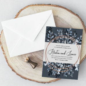 Floral #2 Wedding Invittaion
